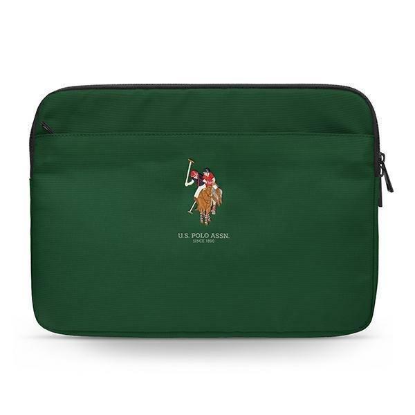"US Polo Sleeve USCS13PUGFLGN 13"" zielony/green"